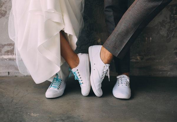 SE MARIER EN BASKETS